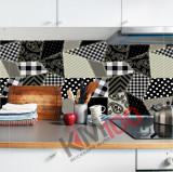 "Sticker Autocolant Faianta Decorativa ""Kitchen Design"" model K-FOL-56 (pret/metru liniar)"