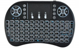 Mini tastatura QWERTY cu mouse si tehnologie  Bluetooth 2.4GHz