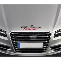 Sticker capota Alfa Romeo Sport