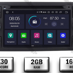 Navigatie Ford Focus Fiesta C Max S Max Kuga Transit Android 9 Quadcore PX30 2GB RAM + 16GB ROM cu DVD 7 Inch AD BGWFORDD7P3 B