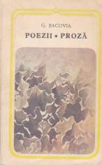 G. BACOVIA - POEZII. PROZA foto