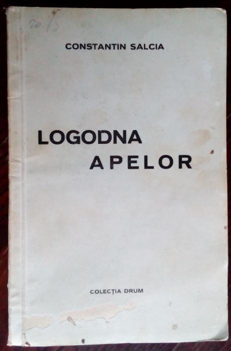 CONSTANTIN SALCIA-LOGODNA APELOR/COL.DRUM1939/GRAVURI CICERONE POPESCU/DEDICATIE
