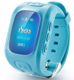 Ceas Smartwatch GPS Copii iUni U6, Localizare Wifi, Apel SOS, Pedometru, Monitorizare somn, Blue