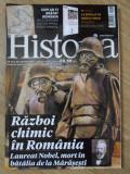 HISTORIA MAI 2018. RAZBOI CHIMIC IN ROMANIA-COLECTIV