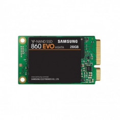 Ssd samsung 250gb 860 evo retail msata r/w speed: 550/520mb/s