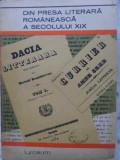DIN PRESA LITERARA ROMANEASCA A SECOLULUI XIX-COLECTIV