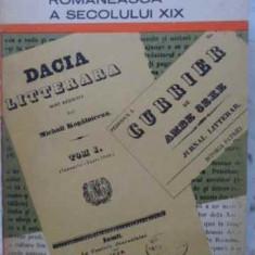 DIN PRESA LITERARA ROMANEASCA A SECOLULUI XIX - COLECTIV