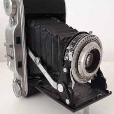 aparat foto vechi cu burduf AGFA RECORD III