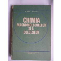 Chimia Macromoleculelor Si A Coloizilor - Ilie Mindru Mindora Leca ,265686