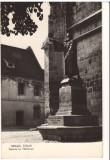 CPIB 15975 CARTE POSTALA - ORASUL STALIN (BRASOV). STATUIA LUI HONTERUS, RPR