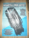 Afis Film - Moartea unui artist-din 199 regizat de Horea Popescu ,cu V.Rebengiuc