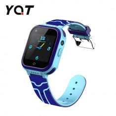 Ceas Smartwatch Pentru Copii YQT T3 cu Functie Telefon, Apel video, Localizare GPS, Istoric traseu, Apel de Monitorizare, Camera, Lanterna, Android, 4