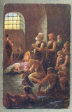 AD 259 C. P. VECHE -QUO VADIS ?-THE CHRISTIANS IN THE JAIL OF THE CIRCUS -PATATA, Franta, Circulata, Printata