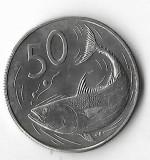 Moneda 50 cents 1973 - Cook, tiraj: 19.000, Australia si Oceania