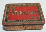 Cutie veche de colectie TUTUN  de LUX - 200 grame - Lei 140 - Perioada Regala