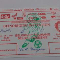 Invitatie      Belgia   -  Romania