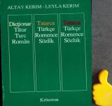 Dictionar roman turc tatar Altay Kerim Leyla Kerim