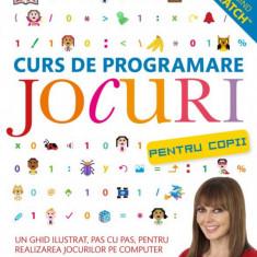 Curs de programare pentru copii. Jocuri Carol Vorderman