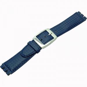 Curea de ceas albastra Morellato - Swatch 20mm A01U2740640753MO17