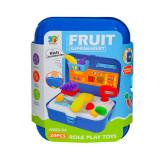 Set unelte de supermarket, Fruit Supermarket, 20 piese