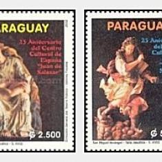 Paraguay 2002 - sculpturi, serie neuzata