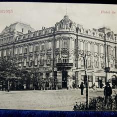 Bucuresti, Hotel de Franta - CP Ilustrata