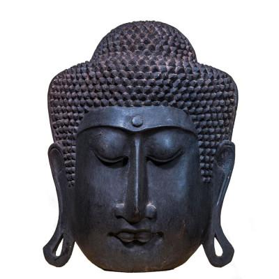 Mască Serenity Buddha Black, XXL foto
