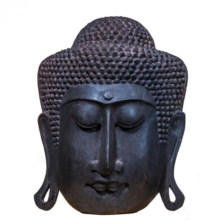 Mască Serenity Buddha Black, XXL