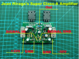 Modul amplificator audio HI-FI clasa A Jean Hiraga's Super Class-A Am, Marantz