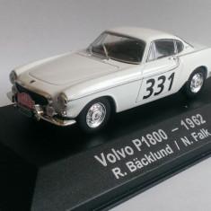 Macheta Volvo P1800 #331 Rally Monte Carlo 1962 - Atlas 1/43 (Raliu)