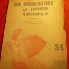 J.Paschill - Comoara Acordeonistului -Seria IIa- interbelica -Partituri Dansuri