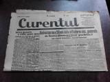 Ziarul Curentul , director Pamfil Seicaru , 27 iunie nr.1939/1933