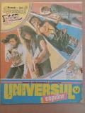 Universul Copiilor - dublu 33-34 din septembrie 1990 - BD Xerxes Insp. Florentin