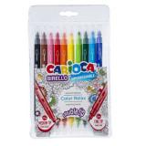 Carioca 10 culori 2 capete Birello