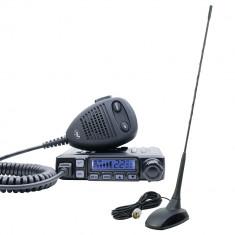 Aproape nou: Pachet statie radio CB PNI Escort HP 7120 ASQ, RF Gain, 4W, 12V si ant