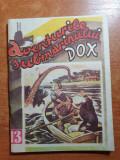 Carte pentru copii anii '90 -aventurile submarinului dox,nr 13