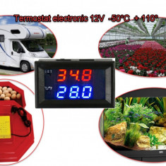 Termostat electronic digital 12V