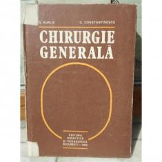 CHIRUGIE GENERALA , C. CONSTANTINESCU