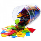 Cumpara ieftin Poligoane colorate - set 450 buc