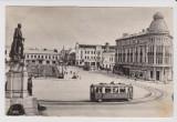 Carte postala IASI tramvai , circulata 1957 ; rara, Fotografie