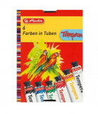 Tempera Herlitz, 16 ml 6 Culori/Set
