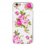 Cumpara ieftin Husa Apple iPhone 6 iPhone 6S Fosforescent model Roses, Silicon, TPU