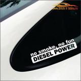 No Smoke, No Fun Model 2- Stickere Auto -Cod: MOV-097-Dim:   25 cm. x 5.8 cm.