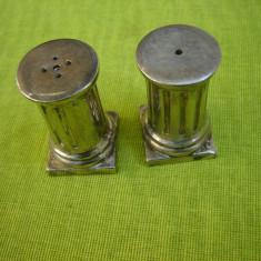 Superba pereche de solnite argintate