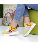 Pantofi Sport De Dama Nuba Galbeni 39 EU, Galben