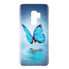 Husa Samsung S9 Plus silicon fluture foto