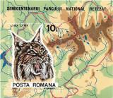 Colita Semicentenarul Parcului National Retezat - fauna si flora, 1985 - NEOBL., Protectia mediului, Nestampilat