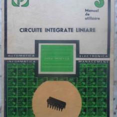 CIRCUITE INTEGRATE LINIARE MANUAL DE UTILIZARE VOL.3 - M. BODEA, A. VATASESCU, N