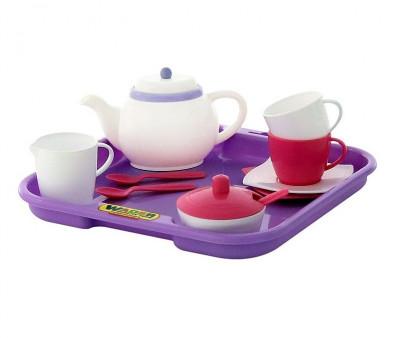 Set de servit ceaiul cu tavita - 2 persoane - Polesie Wader foto