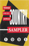 Caseta audio Country Sampler 1991, Casete audio, warner